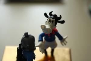 Krava mu je z žalostnim srcem potrdila resničnost legende.